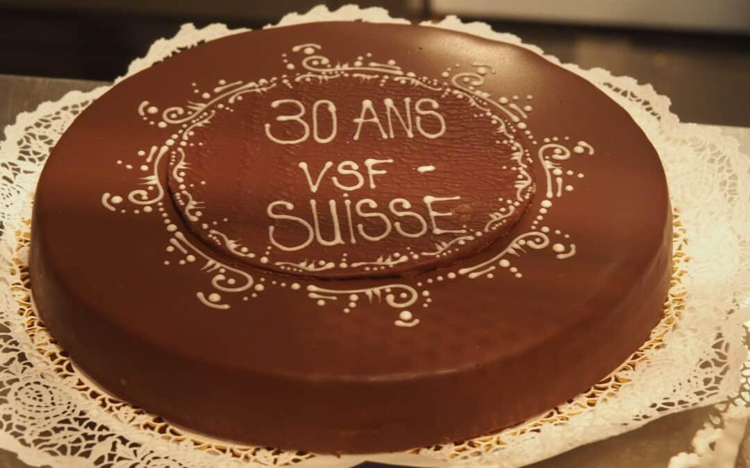 VSF-Suisse feierte den 30. Geburtstag