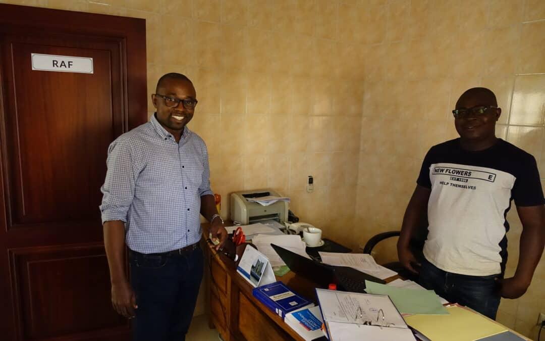Lernen Sie unseren neuen Länderverantwortlichen in Togo kennen, Géraud Hellow!