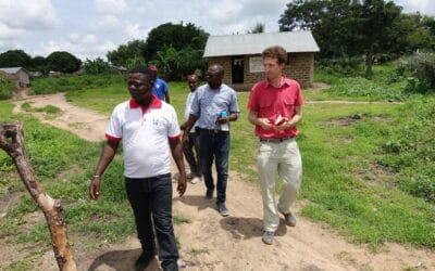Our program manager for West Africa, Christian Wirz, was on mission in Togo