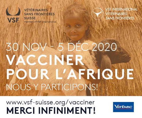« Vacciner pour l'Afrique » 2020 – Merci à tous les participant-e-s !