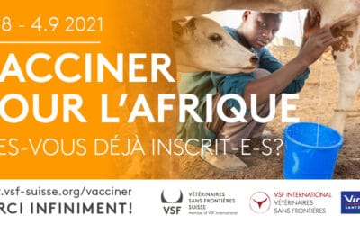 C'est reparti – nouvelle édition de Vacciner pour l'Afrique !