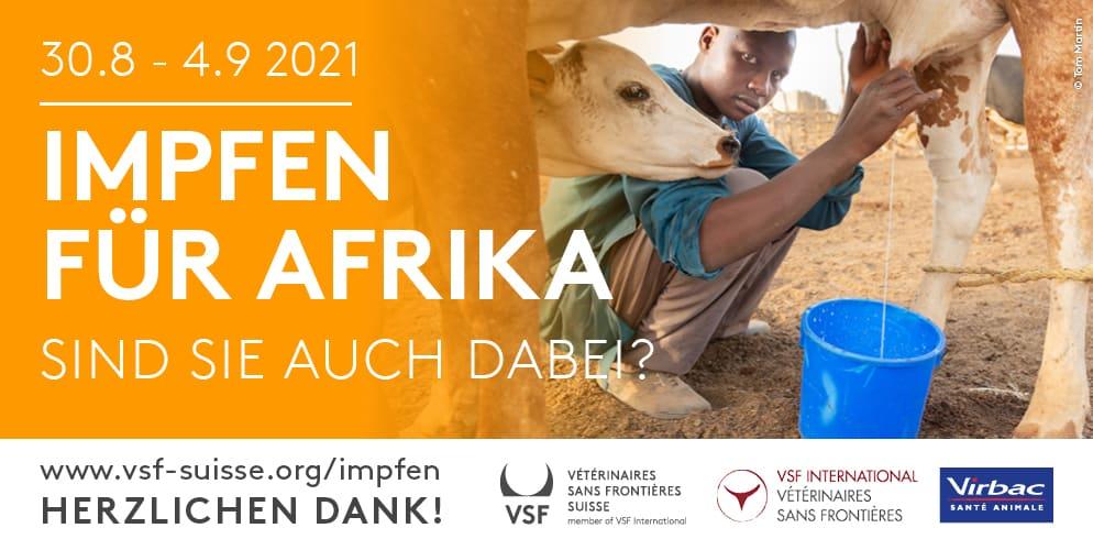 Es ist wieder soweit – Impfen für Afrika startet in die nächste Runde!