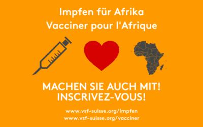 Impfen für Afrika – die Hälfte des Ziels ist erreicht!